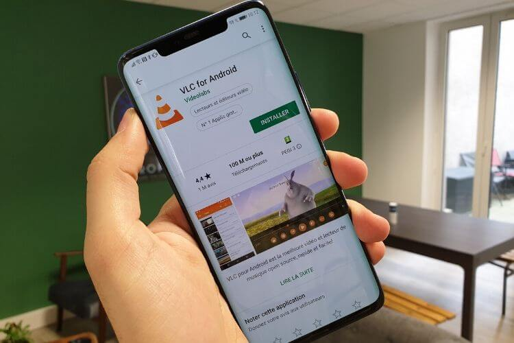 application mobile avec possibilité de rechercher sur internet