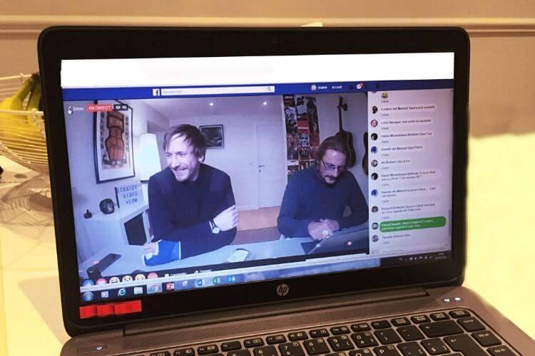 vidéo facebook en direct