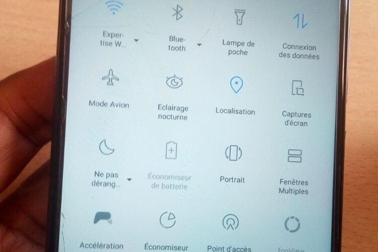 désactiver Bluetooth, le Wi-Fi, le GPS